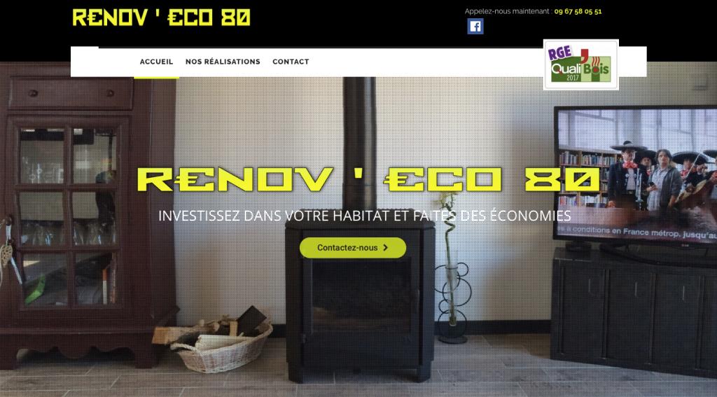 Site société de rénovation